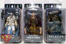 "RIPLEY DOG ALIEN & WEYLAND-YUTANI Alien 3 7"" Figures Set of 3 Series 8 Neca 2016"