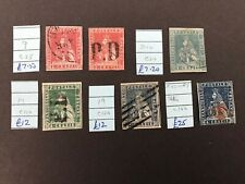 Stamps Tuscany Early Imperf Selection