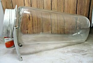 """Aridor Country Store 20"""" Glass Counter Jar Container Tobacco / Candy Canister"""