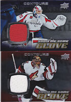 15-16 Upper Deck Contours Mike Smith Jersey Show Me Some Glove Flames 2015