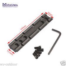 20mm Picatinny Weaver Rail Cambered Bottom Converter Base Scope Mount Rail Laser