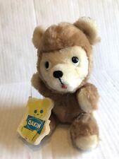 Vintage Teddy Bear Plush Stuffed Animal 1975 Dakin Baby Honey Cub Brown W/ Tag