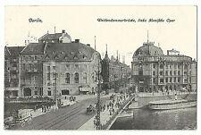Kleinformat Feldpost Ansichtskarten mit dem Thema Theater & Oper