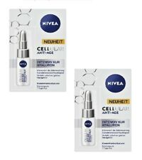 2xPacks NIVEA CELLULAR Anti-Age Intensive Care Hyaluron  (7 Day Cure) *GERMANY*