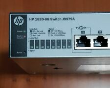 HP 1820-8G (J9979A) managed switch gigabit POE
