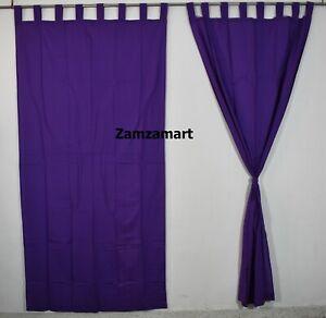 Indian Plain Solid Door Curtain Wall Hanging Window Curtain Drape Panel Valances