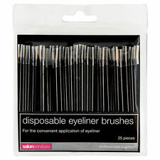 Salon Services Disposable Eyeliner Brushes 25 Pieces
