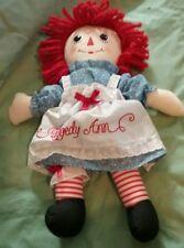 "16"" Aurora Raggedy Ann in great huggable condition"