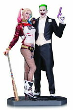 DC COLLECTIBLES HARLEY QUINN AND JOKER STATUE 32CM