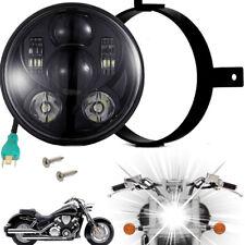 Eagle Lights Honda VTX Black Projection LED Headlight - Plug and Play