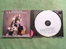 It Runs In The Family. Film Soundtrack. Compact Disc. 2003. Made In E.U.