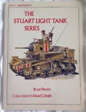 THE STUART LIGHT TANK SERIES by BRYAN PERRETT Osprey Vanguard 17 - FREE shipping