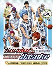 Kuroko's Basketball Sea. 1 - 3 (TV + OVA) DVD + EXTRA GIFT