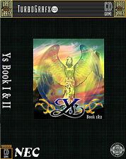 YS TOMO I & II turbo grafx CD incorniciato stampa (MAN GROTTA foto poster arte gioco)