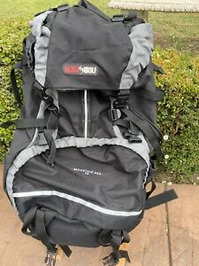 Black Wolf Backpack Mountain Ash 75 Litres