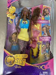 Barbie SO IN STYLE S.I.S. Kara & Kianna African American  Read Description (05)