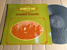 CLARENCE WILLIAMS - ARCHIVE OF JAZZ - VOL. 38 - LP - BYG 529 088