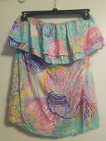 LILLY PULITZER size Medium Wiley tube top