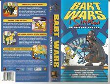 """VIDEOCASSETTA VHS""""BART WARS""""I SIMPSON COLPISCONO ANCORA-20CENTURY FOX-FILM PER T"""