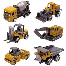 Kids Diecast Construction Vehicles Metal Engineering Cars Set Toys Play Trucks 2