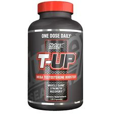 Nutrex T-UP Testosterone Booster D-Aspartic Acid PCT - 120 caps ONE DOSE DAILY