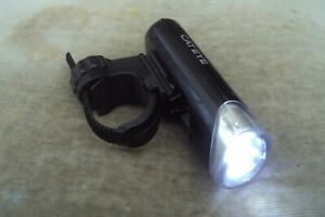 Cateye opticube el-135 3 led front bike light with quick release bracket