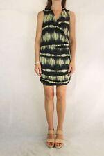 WITCHERY Black Daffodil Printed Dress Size XS 8