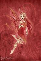Fairy Sprite Ember by Brigid Ashwood Art Print Poster 12x18 inch