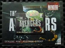 The Avengers Complete Series Trading Cards Limited Edition Postage Stamp Card
