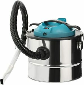 15L Fireplace Ash Vacuum Cleaner Hoover Wood Burner Vac Grill BBQ Chimineas
