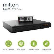 Compact DVD Player Milton Davies HDMI Upscaling USB Multi Region