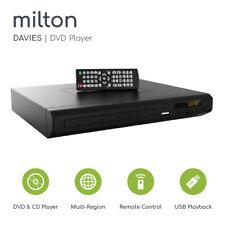 Compact DVD Player HDMI Upscaling USB Multi Region Milton Davies
