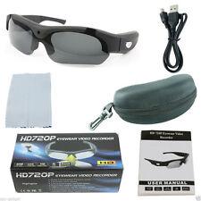 Sport Hidden Spy Mini Invisible Camera Glasses HD 720p Design Video Camcorder