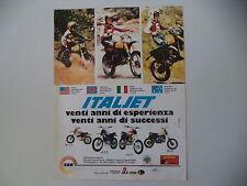 advertising Pubblicità 1979 MOTO ITALJET M 5 C/JC 5 C/KS 50/PR 50