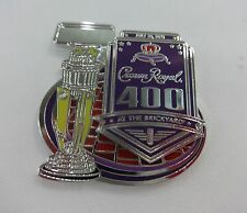 2015 Crown Royal 400 At the Brickyard Event Trophy Collector Pin Nascar
