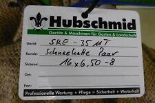 Schneeketten für Räder, Rad 16x6,5-8 z. B. Agria Einachser , Echo Husquarna