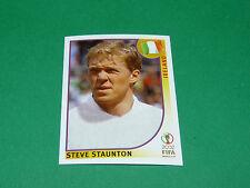 N°355 STEVE STAUNTON IRELAND PANINI FOOTBALL JAPAN KOREA 2002 COUPE MONDE FIFA
