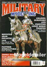 Military Modelling Magazine Apr.95 Panther Schmalturm Waterloo Zulu War M113 APC