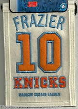 WALT FRAZIER NEW YORK KNICKS RETIREMENT BANNER #10 CLYDE