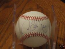 Chin Ming Wang Autographed OML Baseball-Yankees