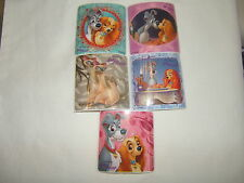 5 Lady and The Tramp  Stickers Party Favors