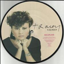 TRACEY ULLMAN Helpless w/ UNRELEASED STIFF Records PICTURE DISC UK 7 INCH Vinyl