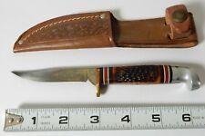 WESTERN 628 E FIXED BLADE FISH BIRD KNIFE W/ SHEATH