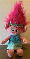 2015 Dreamworks Hasbro Trolls POPPY Large Plush Stuffed Animal Toy Doll 22""