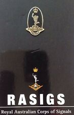 RASIGS - Royal Australian Corps Of Signals Lapel Pin