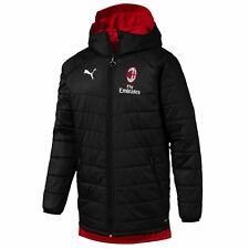 AC Milan official soccer winter reversible bench jacket 2019/20 Adidas