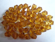 Wholesale!100-1000pcs 4-6mm crystal Swarovski 5301# Bicone Beads, U Pick color