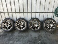 Nissan Silvia S13 Work CR KAI 18inch Wheels & Tyres Set
