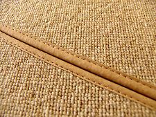 kompl. Kofferraum Teppich satz für Borgward Isabella Coupe Haargarn Bouclé Beige