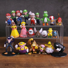 Super Mario Bros Mario Yoshi Luigi set of 22 Action Figure Toy Collection 3-8cm